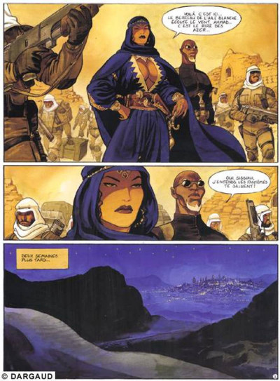 Page 1 gipsy tome 5 - l'aile blanche