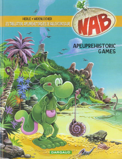 Couverture nab tome 9 - Apeuprehistoric games