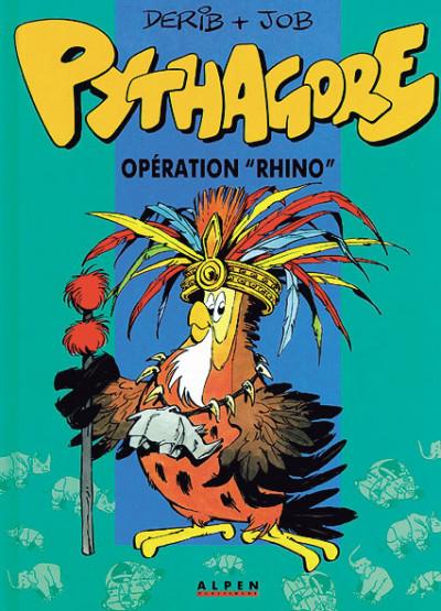 Couverture Les aventures de Pythagore & cie tome 2 - Opération rhino