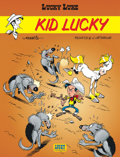 Couverture kid lucky