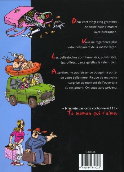 Dos Le petit guide illustré des belles-mères