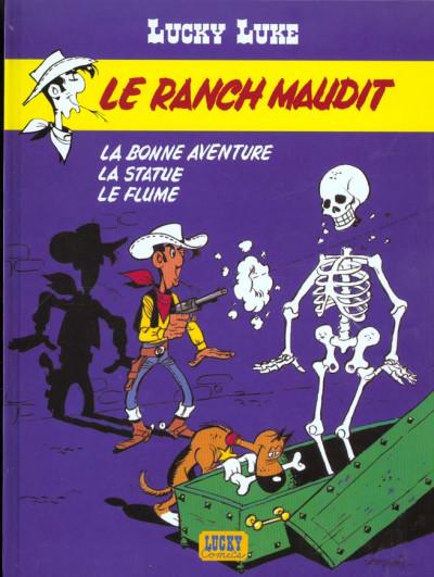 Couverture lucky luke ; le ranch maudit