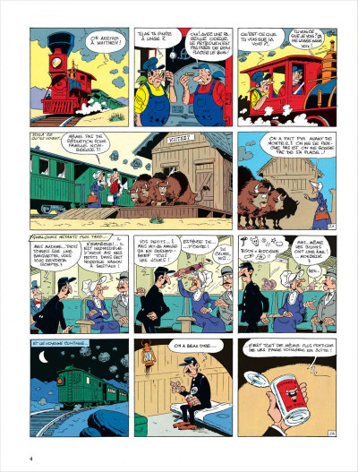 Page 4 lucky luke ; le ranch maudit