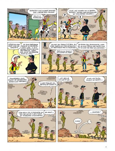 Page 5 lucky luke ; le prophète