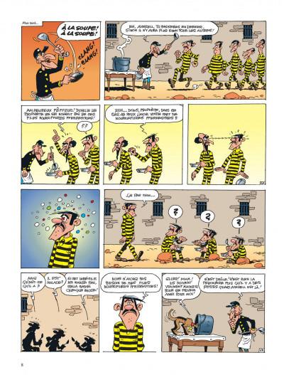 Page 8 lucky luke ; le prophète