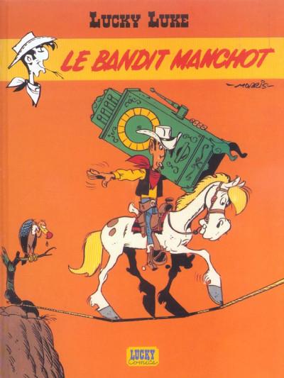 Couverture lucky luke ; le bandit manchot