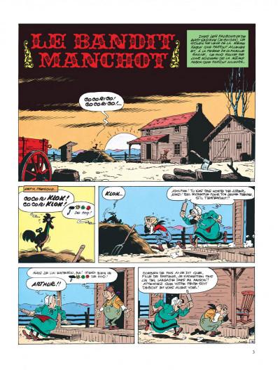 Page 7 lucky luke ; le bandit manchot