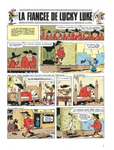 Page 3 lucky luke ; la fiancée de lucky luke