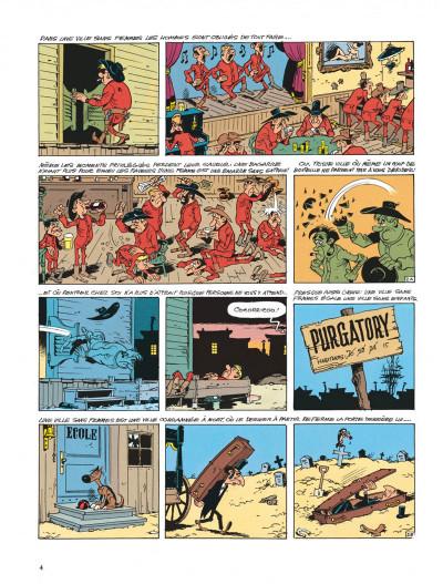 Page 4 lucky luke ; la fiancée de lucky luke