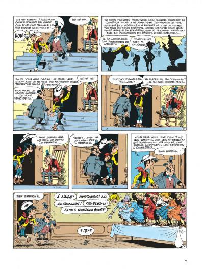 Page 7 lucky luke ; la fiancée de lucky luke