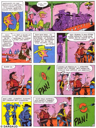 Page 1 Lucky Luke tome 33 - le pied-tendre