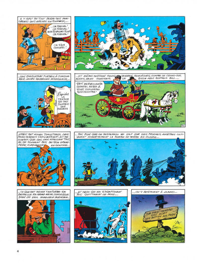 Page 4 Lucky Luke tome 33 - le pied-tendre