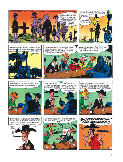 Page 5 Lucky Luke tome 33 - le pied-tendre