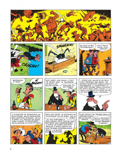 Page 6 Lucky Luke tome 33 - le pied-tendre