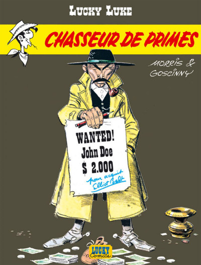 Page 2 Lucky Luke tome 39 - chasseur de primes