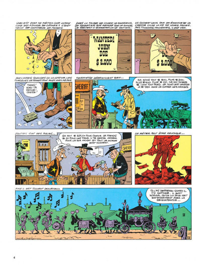 Page 4 Lucky Luke tome 39 - chasseur de primes