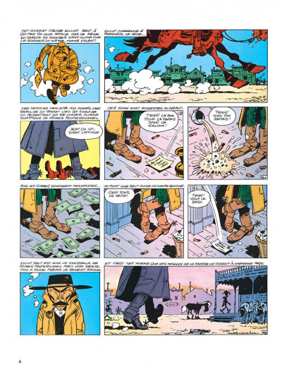 Page 6 Lucky Luke tome 39 - chasseur de primes