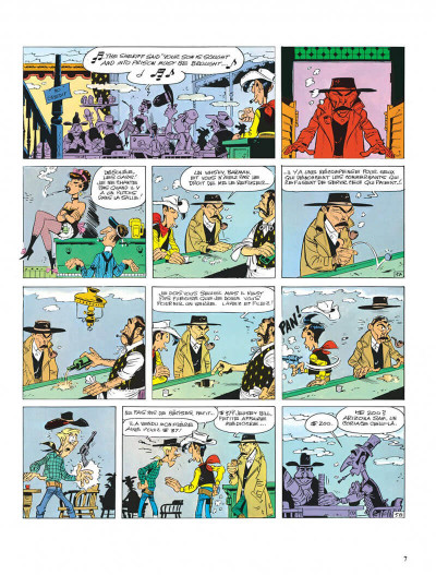 Page 7 Lucky Luke tome 39 - chasseur de primes