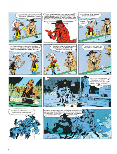 Page 8 Lucky Luke tome 39 - chasseur de primes