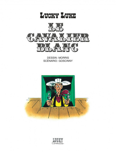 Page 1 lucky luke ; le cavalier blanc