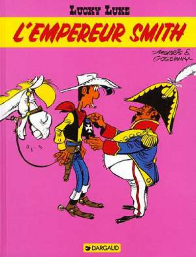 Couverture lucky luke ; l'empereur smith