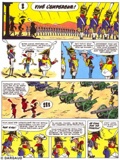 Page 1 lucky luke ; l'empereur smith