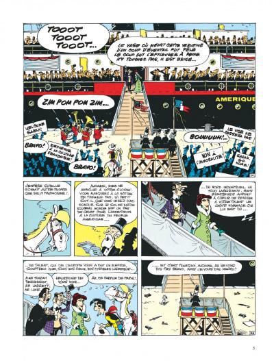 Page 5 lucky luke ; sarah bernhardt