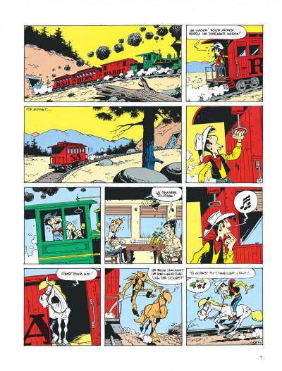 Page 7 lucky luke ; sarah bernhardt