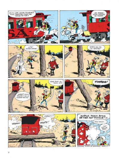 Page 8 lucky luke ; sarah bernhardt