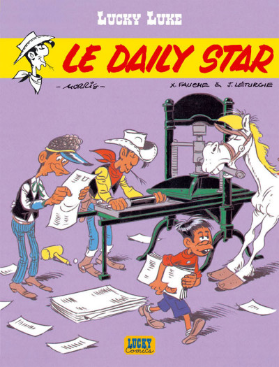 Page 2 lucky luke ; le daily star