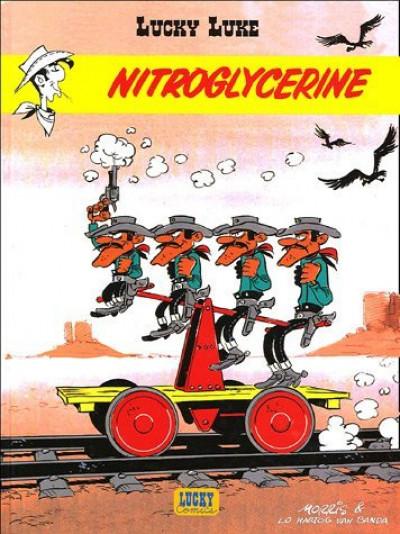 lucky luke ;  nitroglycerine