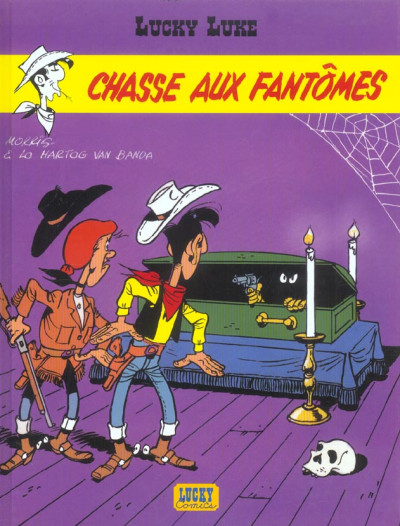 Couverture lucky luke ;chasse aux fantômes