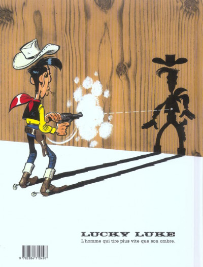 Dos lucky luke ;chasse aux fantômes