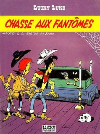 Page 2 lucky luke ;chasse aux fantômes