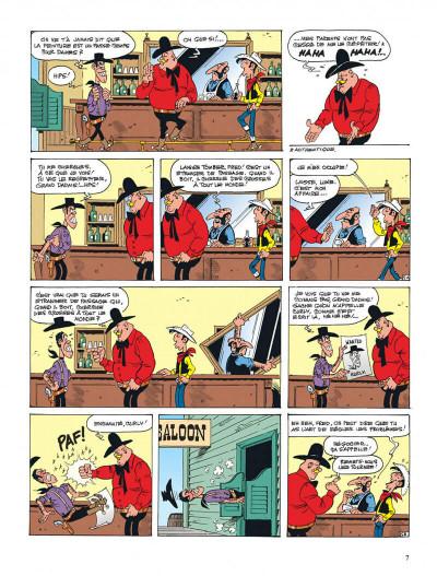 Page 7 lucky luke ; l'artiste peintre