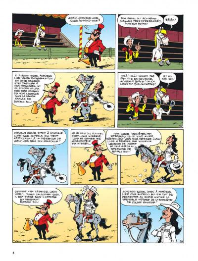 Page 4 lucky luke tome 70 - la légende de l'ouest