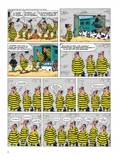 Page 8 lucky luke tome 70 - la légende de l'ouest