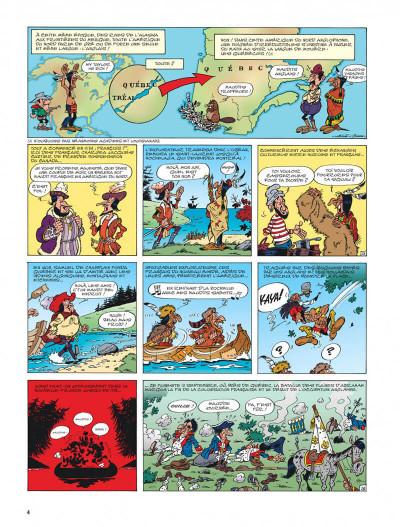 Page 4 lucky luke - les nouvelles aventures de lucky luke tome 1 - la belle province