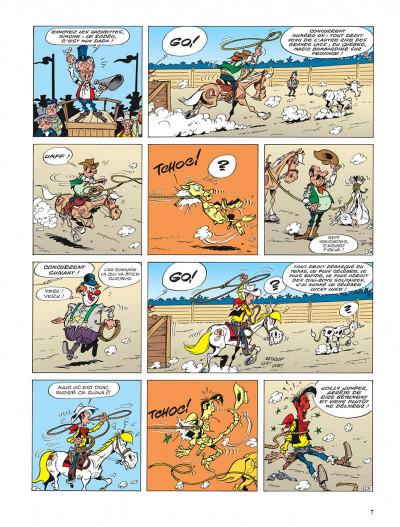 Page 7 lucky luke - les nouvelles aventures de lucky luke tome 1 - la belle province