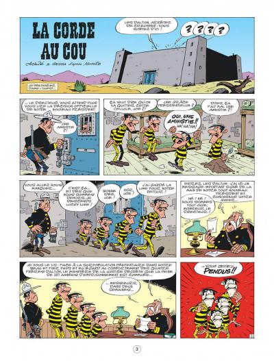 Page 3 lucky luke - les nouvelles aventures de lucky luke tome 2 - la corde au cou
