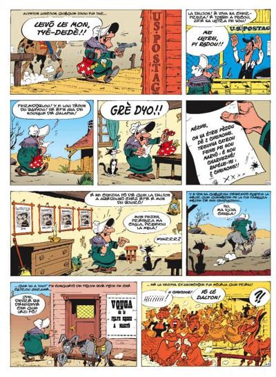 Page 4 lucky luke ; maryô donbin pèdu ; la corde au cou