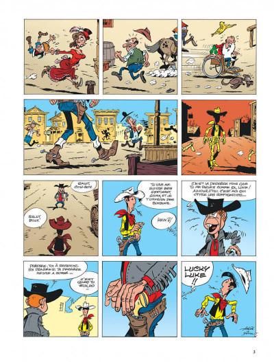 Page 3 lucky luke - les nouvelles aventures de lucky luke tome 3 - l'homme de washington