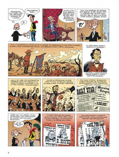 Page 6 lucky luke - les nouvelles aventures de lucky luke tome 3 - l'homme de washington