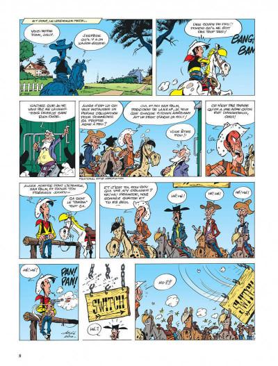 Page 8 lucky luke - les nouvelles aventures de lucky luke tome 3 - l'homme de washington