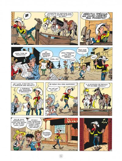 Page 5 les nouvelles aventures de lucky luke tome 4