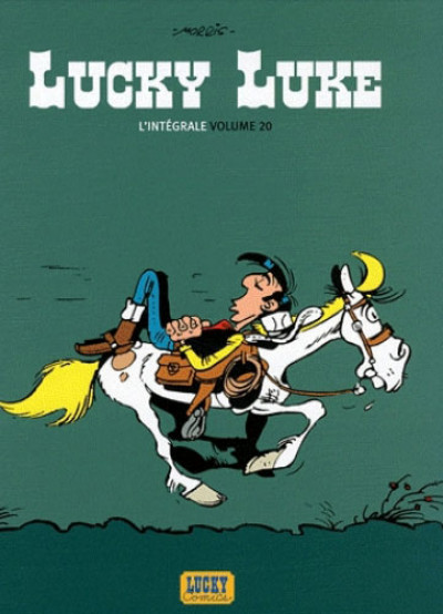 Couverture Lucky Luke - intégrale tome 20
