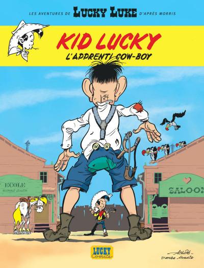 Couverture Les aventures de Kid Lucky tome 1