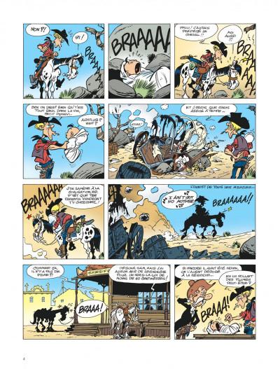 Page 4 Les aventures de Kid Lucky tome 1