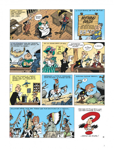 Page 7 Les aventures de Kid Lucky tome 1