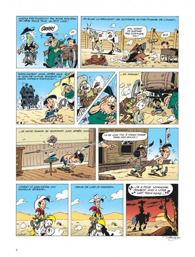 Page 8 Les aventures de Kid Lucky tome 1